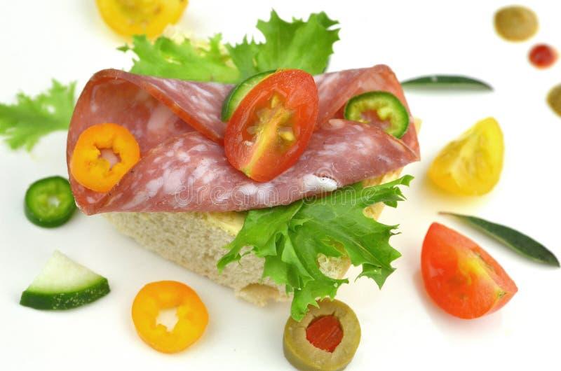 Малые сандвичи партии стоковая фотография