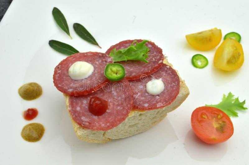 Малые сандвичи партии стоковое изображение rf