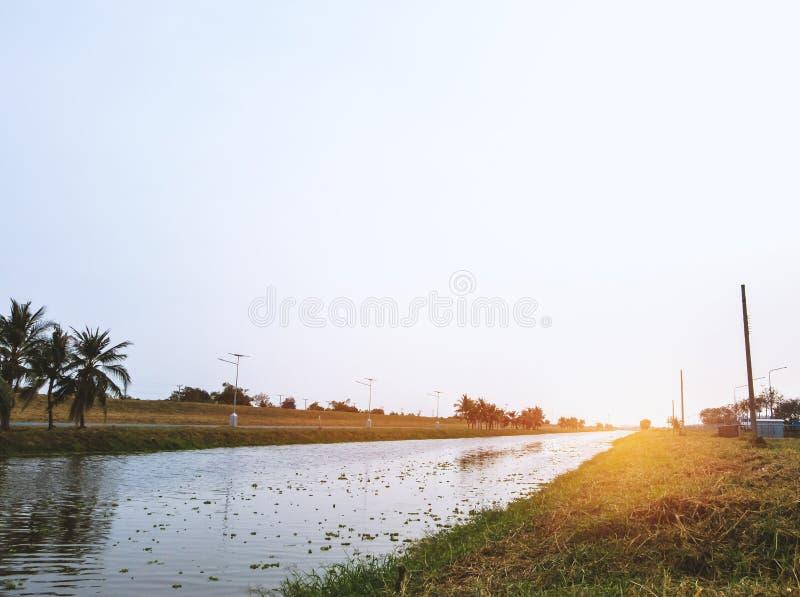 Малый канал стоковое фото rf