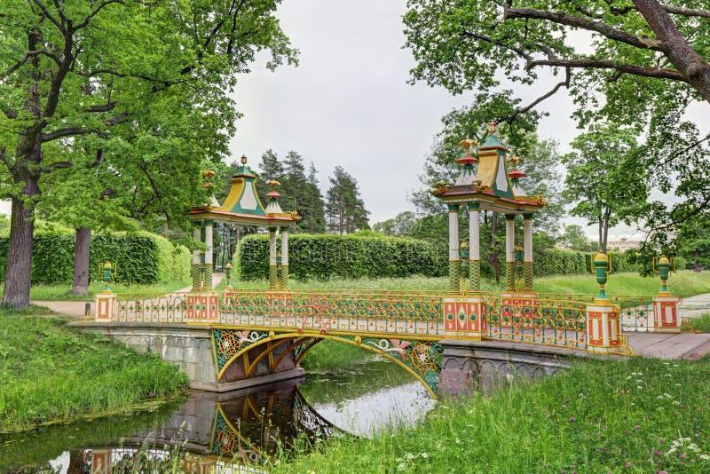 Малый китайский мост стоковые изображения