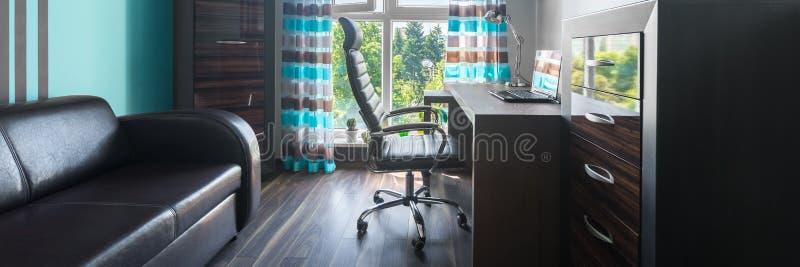 Малый домашний офис стоковые изображения rf