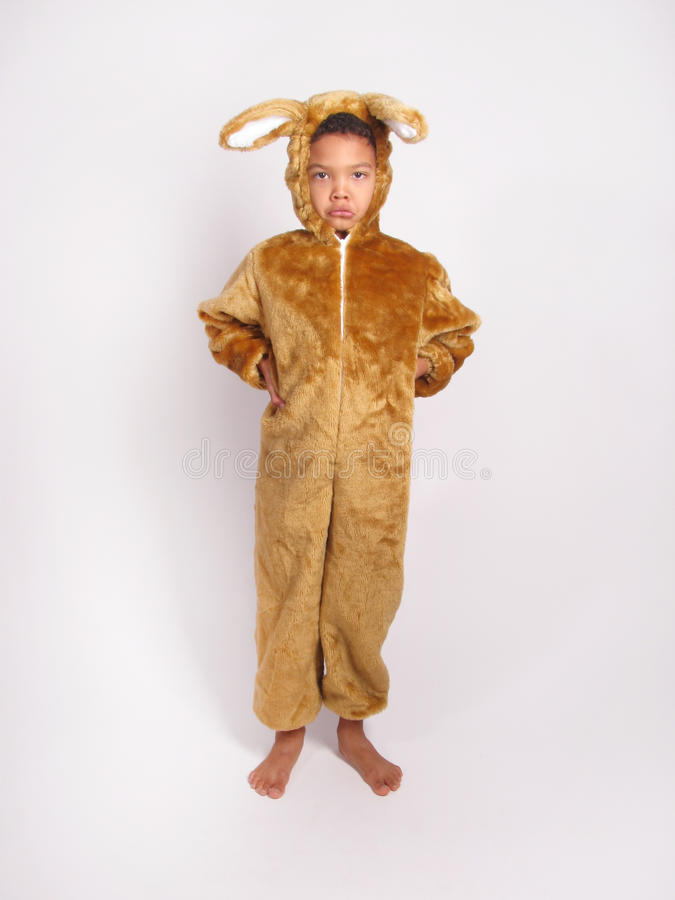 Мальчик в костюме причудливого платья стоковые фото