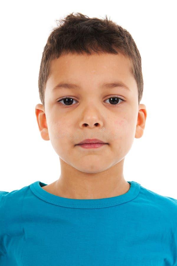 Мальчик малыша портрета студии Antillean стоковые фотографии rf