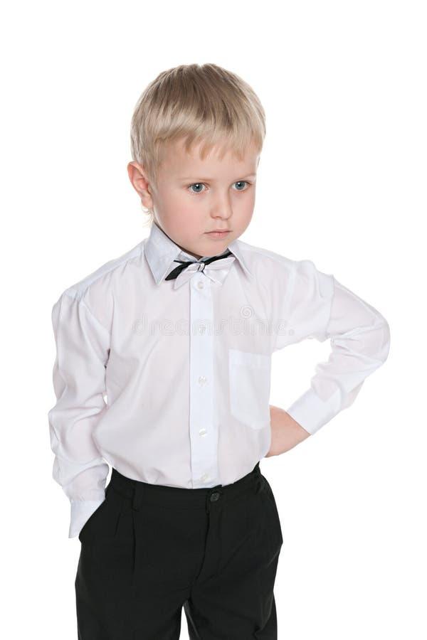 мальчик немногая осадил стоковая фотография