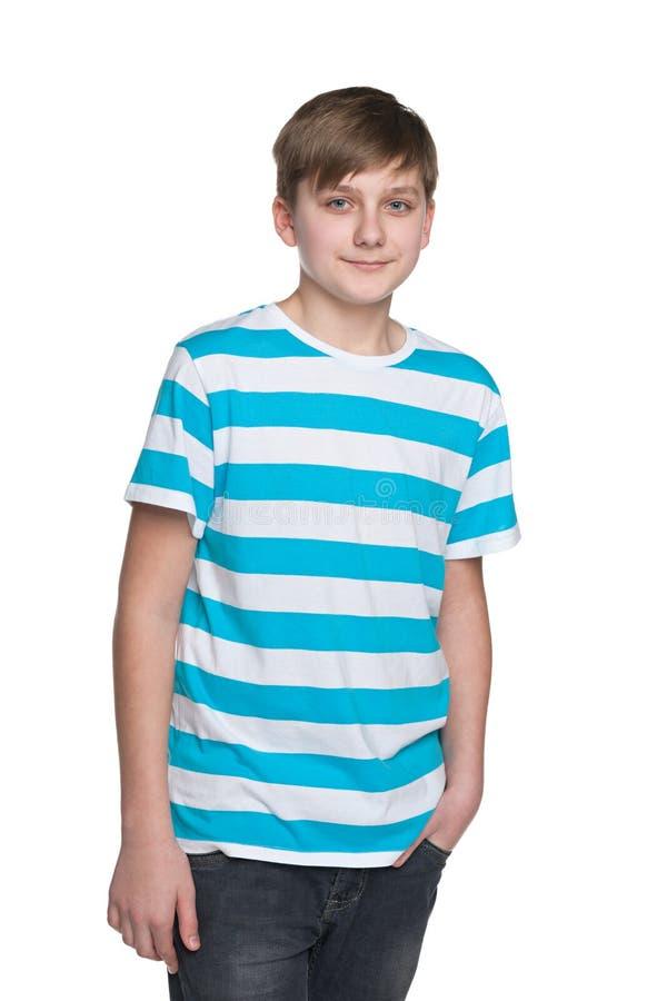 Мальчик подростка стоковое фото