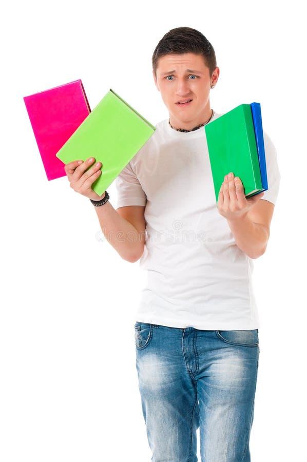 Мальчик студента стоковые изображения