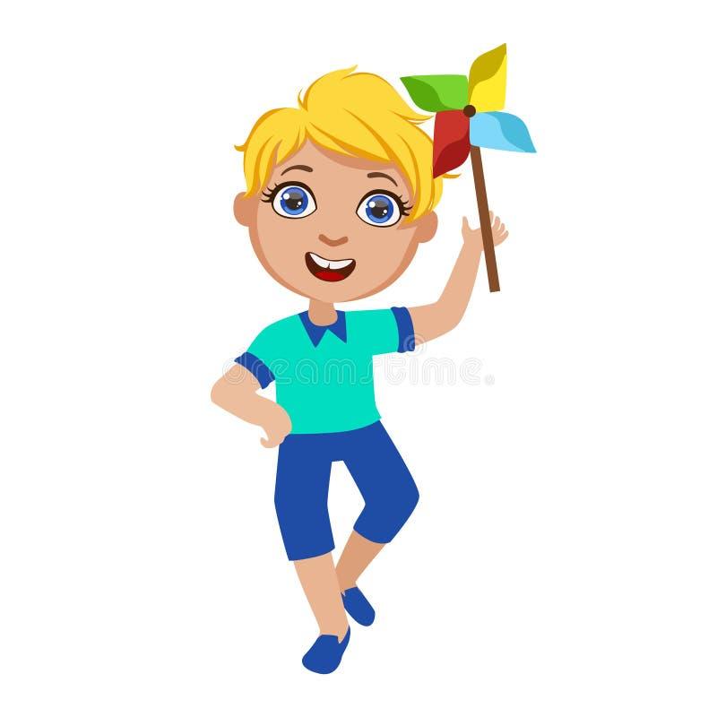 Мальчик с ветрянкой игрушки, часть детей на комплекте вечеринки по случаю дня рождения милых персонажей из мультфильма с атрибута бесплатная иллюстрация