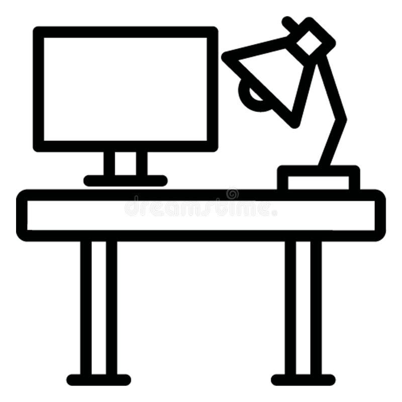 Мебель изолировала значок вектора который может легко доработать иллюстрация вектора