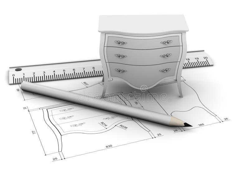 мебель конструкции бесплатная иллюстрация