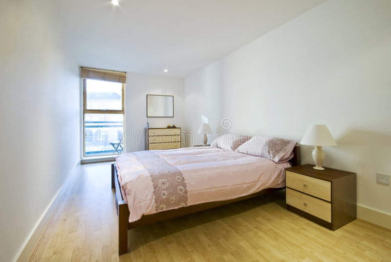 мебель спальни современная самомоднейшая стоковые фото