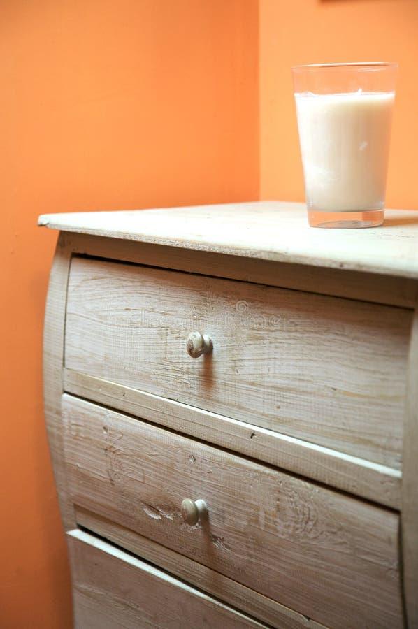 Мебель с стеклом свечки стоковое фото rf