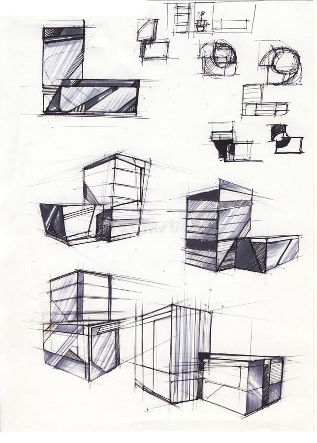 мебель иллюстрация вектора