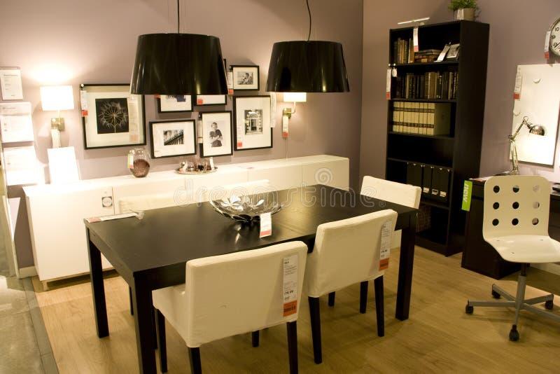 Мебельный магазин стоковое изображение rf
