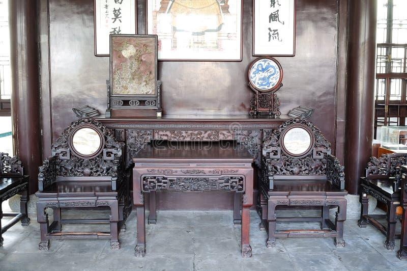 Мебель Mahogany стоковые фото
