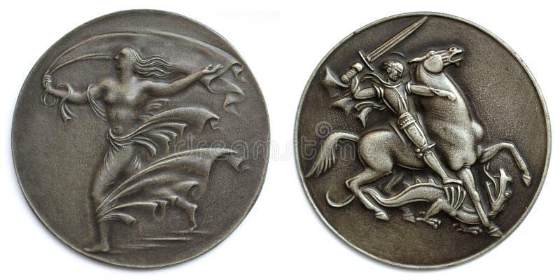 медальоны старые стоковые изображения rf