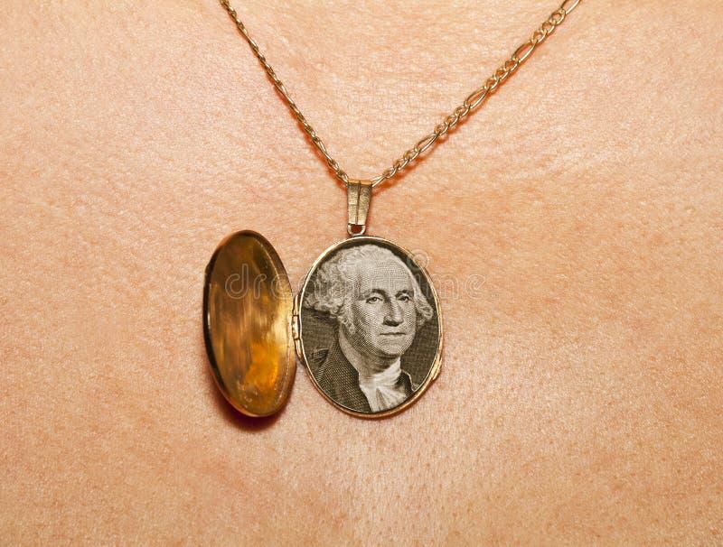 медальон золота стоковое фото rf