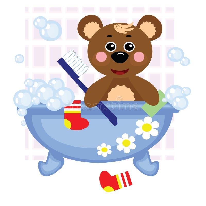картинки медведь под душем открыта