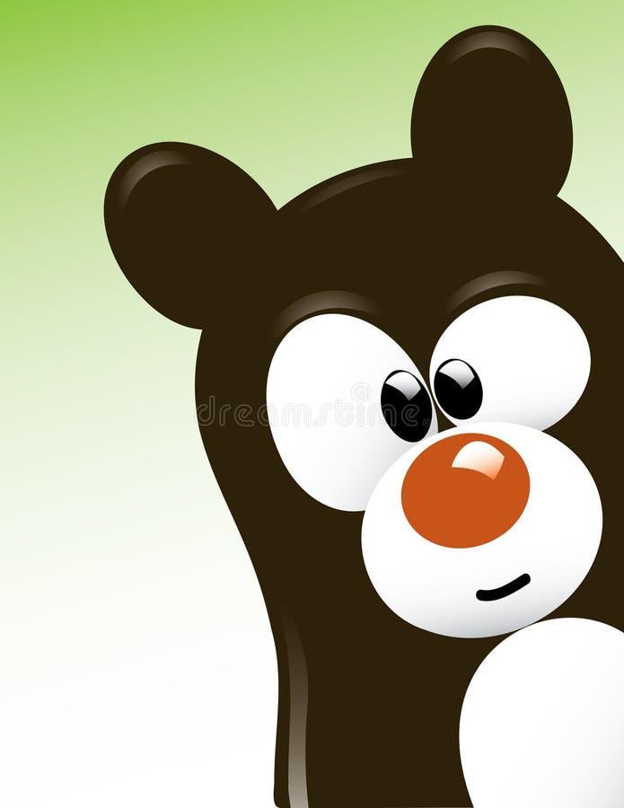 медведь милый стоковое изображение