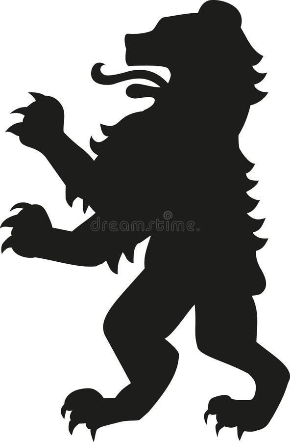 Медведь оружия геральдики бесплатная иллюстрация