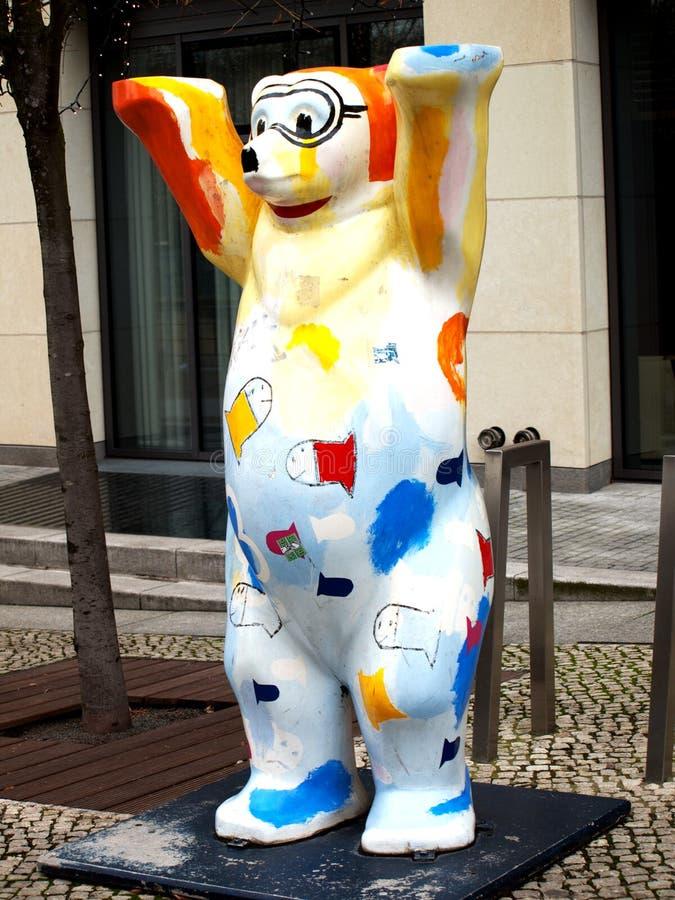 медведь berlin стоковое фото rf