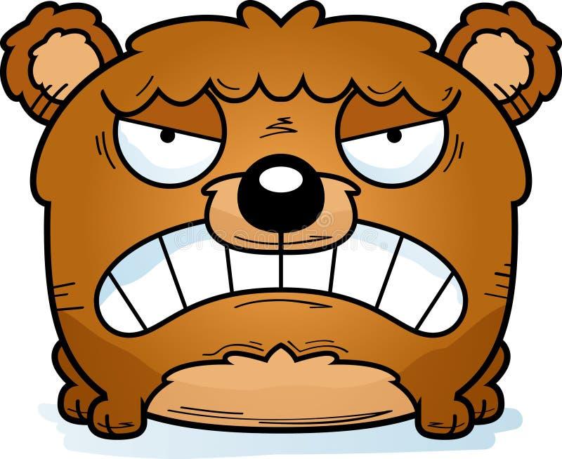 Медведь Cub шаржа сердитый бесплатная иллюстрация