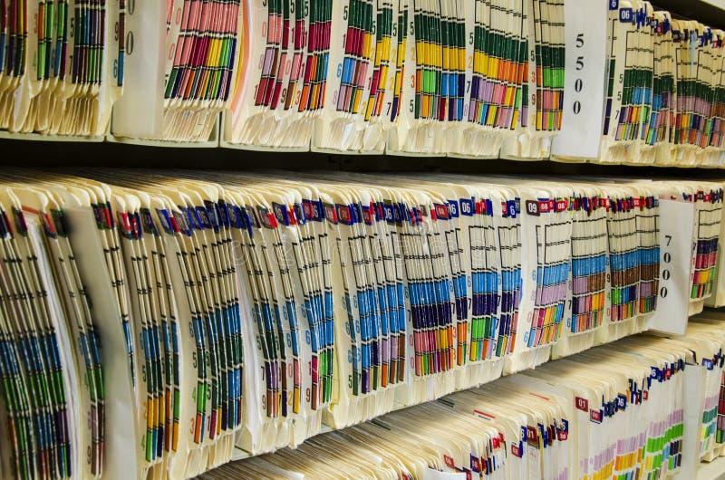 Медицинские архивы стоковые изображения rf