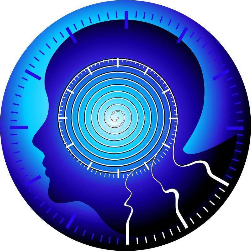 медицинские технологии контроля иллюстрация вектора