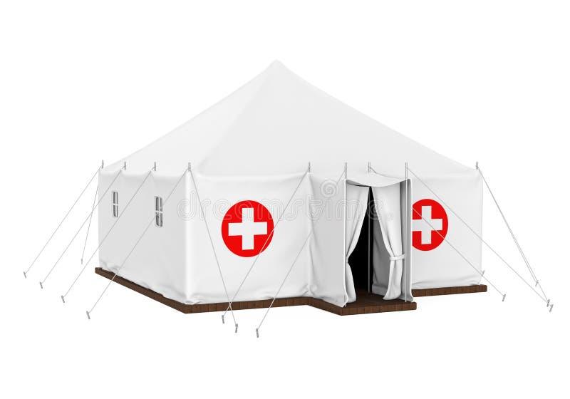 Медицинский изолированный шатер иллюстрация вектора