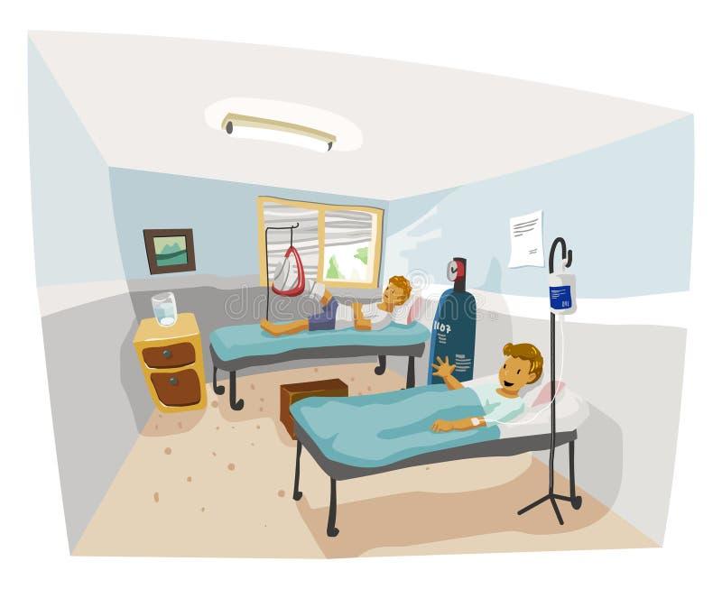 медицинское лечение иллюстрация вектора