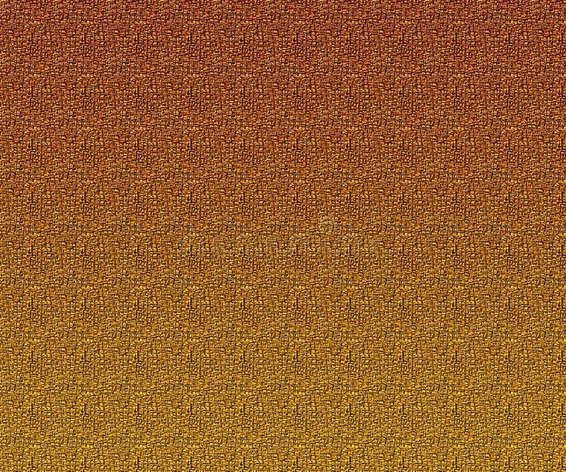 Медная золотая текстура холста абстрактная предпосылка цветастая Космос экземпляра для различных художественных произведений бесплатная иллюстрация