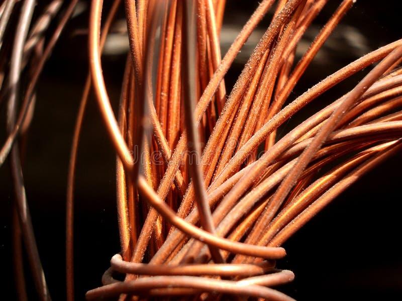 Медный провод 4 Стоковые Фото