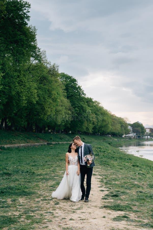 Медовый месяц за рубежом Организация и тренировка совсем включающие стоковые фотографии rf