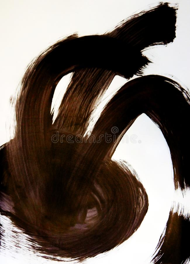 Медуза в его заколдовывая танце стоковые фотографии rf