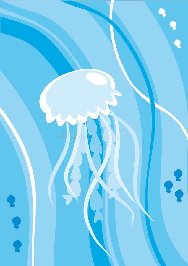 медузы шаржа бесплатная иллюстрация