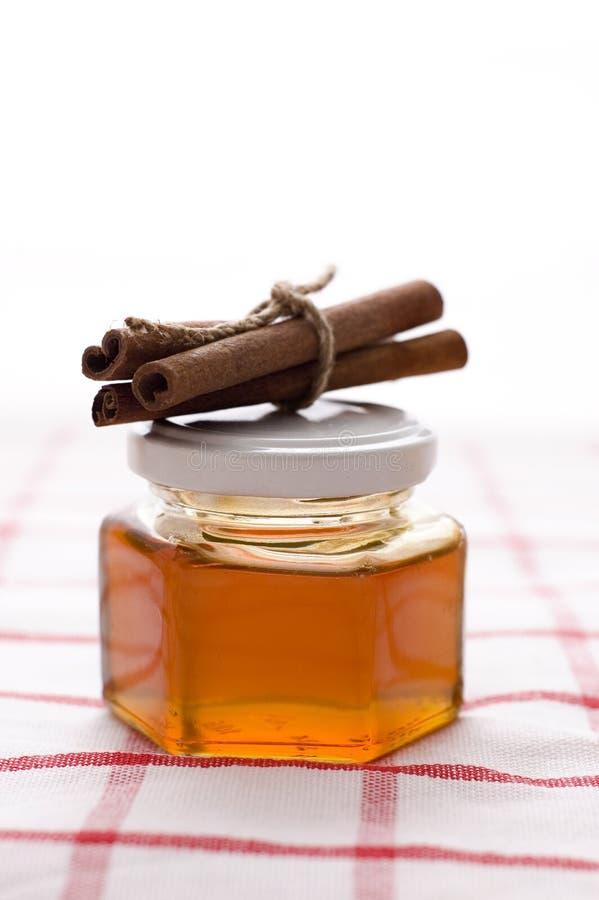 мед циннамона стоковые изображения rf