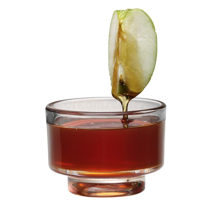 мед яблока стоковое изображение rf