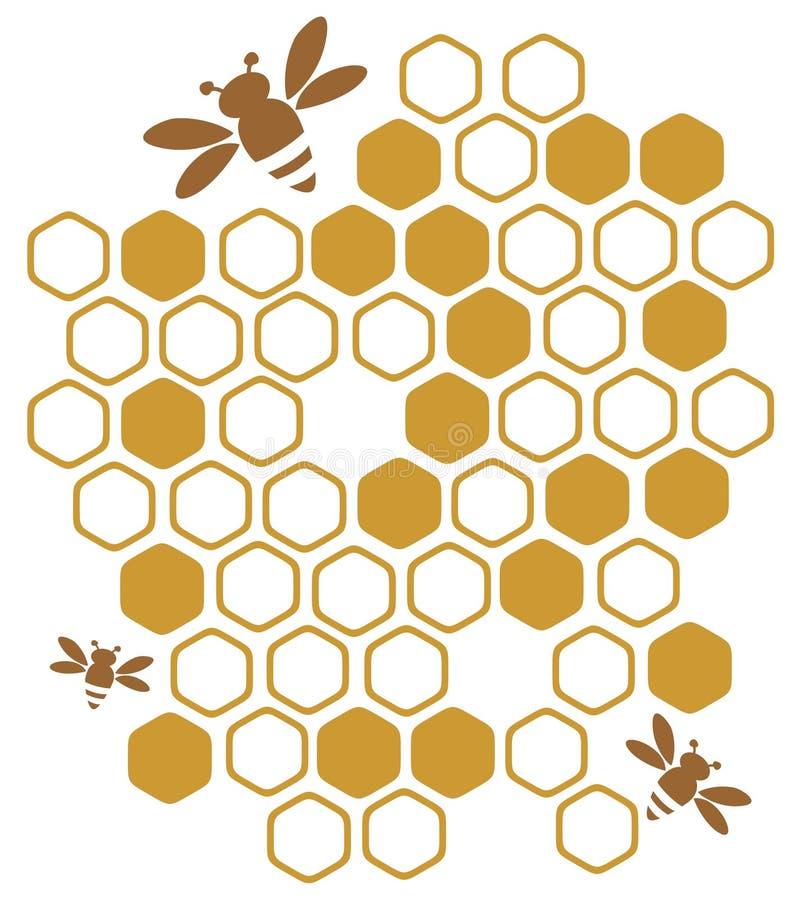 мед иллюстрация вектора