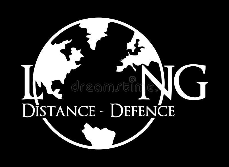 Международная длинная оборона иллюстрация штока