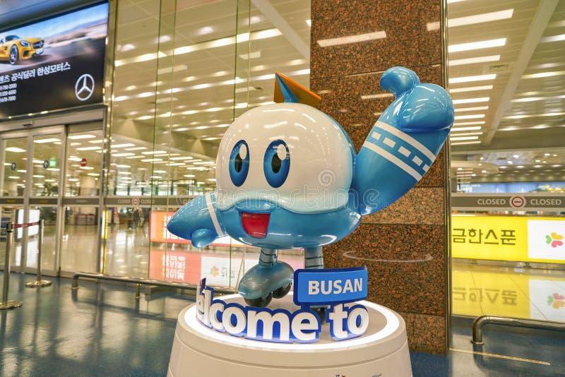 Международный аэропорт Кимхэ стоковое фото rf