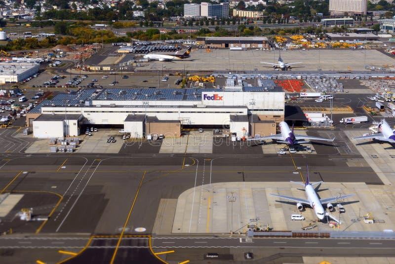 Международный аэропорт свободы Ньюарка, NJ, США стоковая фотография rf