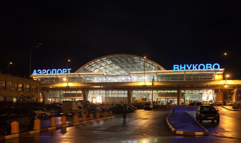 Международный аэропорт Vnukovo стоковое фото rf