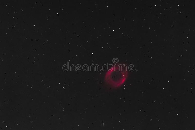 Межзвёздное облако винтовой линии стоковое изображение