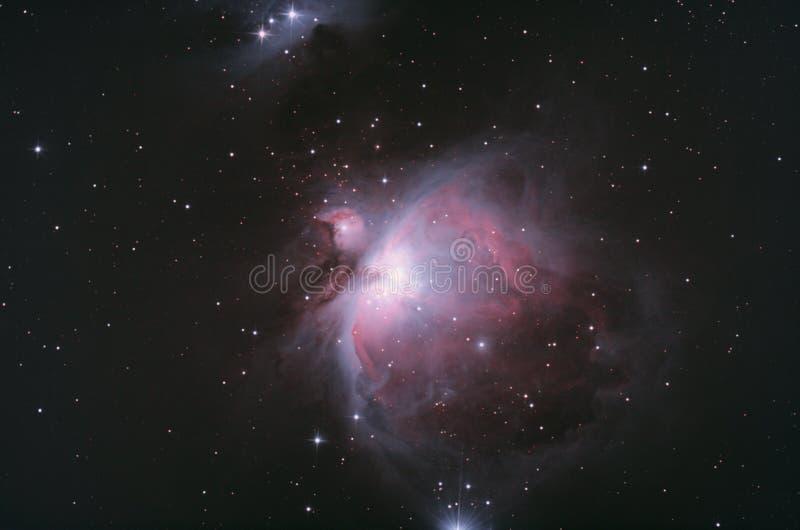 Межзвёздное облако Ориона, M42 стоковое изображение