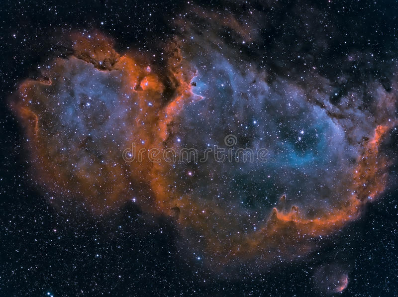 Межзвёздное облако души стоковое изображение rf
