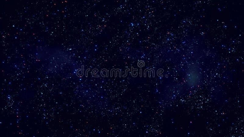 Межзвёздные облака космоса поля звезды бесплатная иллюстрация