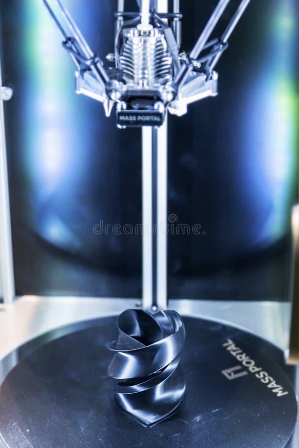 Международная конференция и выставка печатания 3D и scann стоковое фото rf