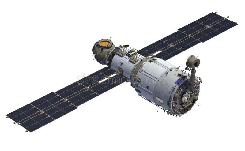 международная космическая станция иллюстрация вектора