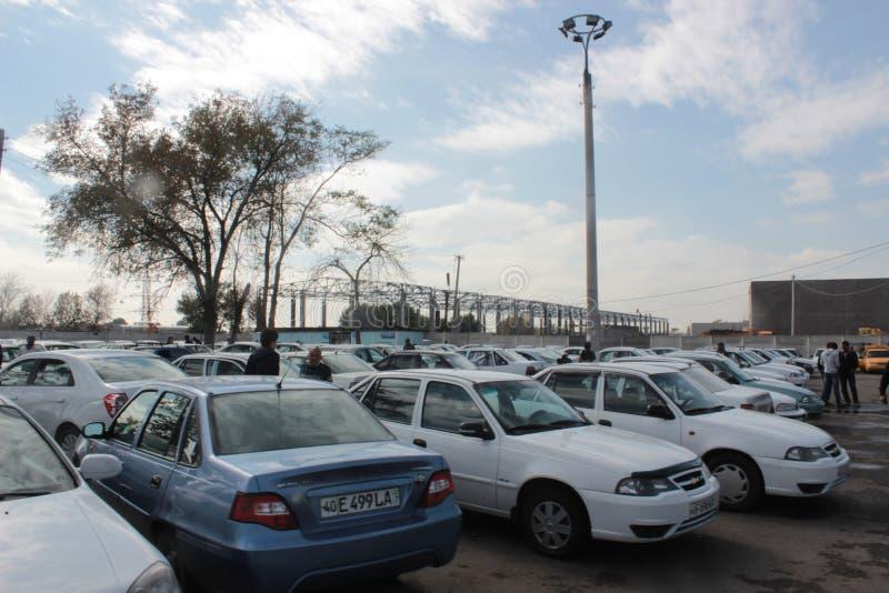Международная станция такси в Ташкенте стоковая фотография rf