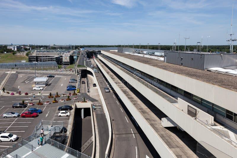 Международный аэропорт Кёльна Бонна, Германия стоковые изображения rf