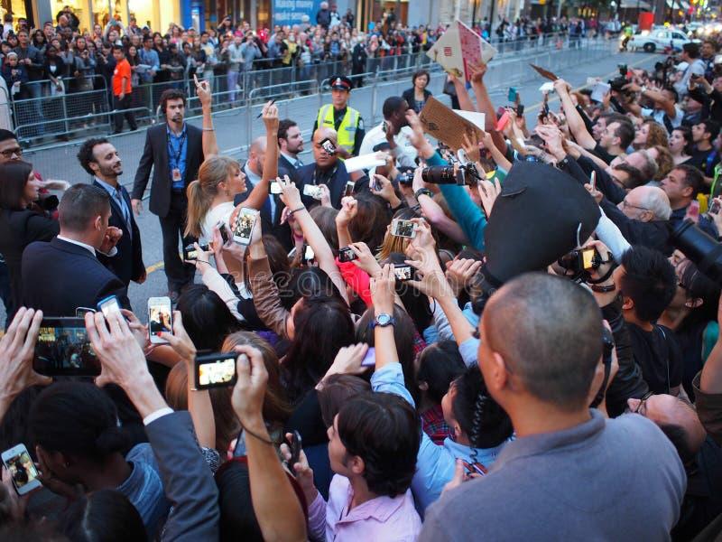 Международный кинофестиваль 2013 Торонто стоковое изображение